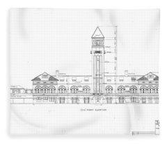 Mount Royal Station Fleece Blanket