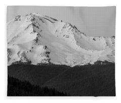 Mount Shasta  Fleece Blanket