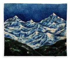 Mountain-2 Fleece Blanket