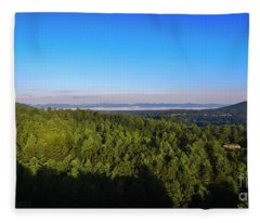 Lake Lure Fleece Blanket