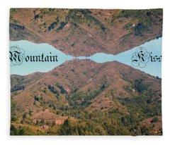 Mountain Kiss  Fleece Blanket