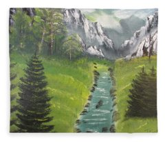 Mountain Meadow Fleece Blanket