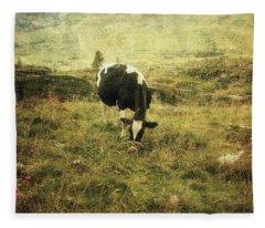 Mountain Pastures  Fleece Blanket