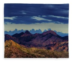 Mountain Shadow Fleece Blanket