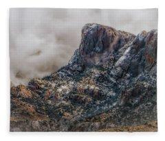 Mountain Storms Fleece Blanket