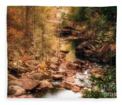 Mountain Stream Fleece Blanket