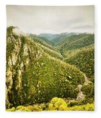 Mountain Streams Fleece Blanket
