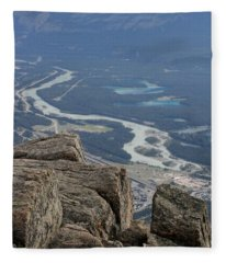 Mountain View Fleece Blanket