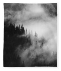 Mountain Whispers Fleece Blanket