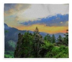 Mountains Tatry National Park - Pol1003778 Fleece Blanket