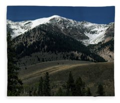 Mountainscape Fleece Blanket