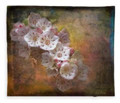 Mountain Laurel Fleece Blanket