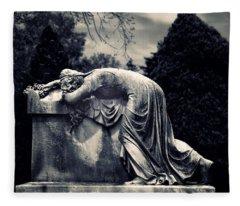 Mournful Fleece Blanket