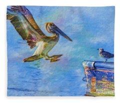 Move Over Fleece Blanket