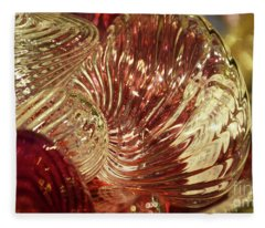 Movement In Glass Fleece Blanket
