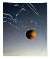 Mars Fleece Blanket