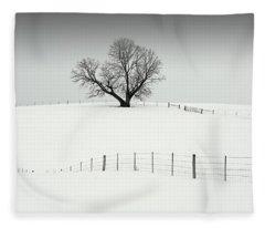 Mr. Elder Tree Fleece Blanket