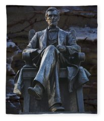 Mr. Lincoln Fleece Blanket