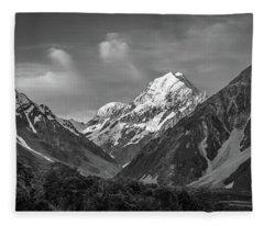 Mt Cook Wilderness Fleece Blanket