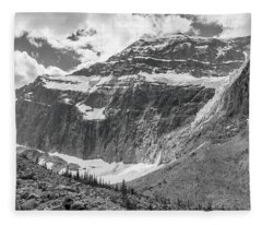 Mt. Edith Cavell Fleece Blanket