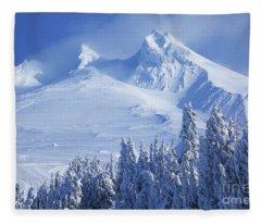 Mt. Hood Fleece Blanket