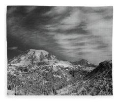Mt. Rainier Fleece Blanket