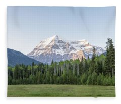 Mt. Robson Fleece Blanket