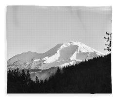 Mt Shasta Fleece Blanket