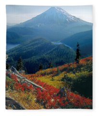 1m4903-mt. St. Helens 1975  Fleece Blanket
