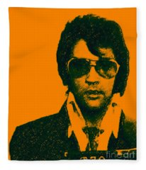 Mugshot Elvis Presley Fleece Blanket