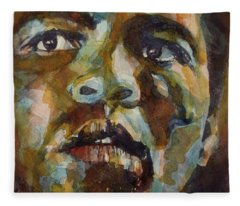 Muhammad Ali   Fleece Blanket