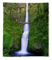 Multnomah Dream Fleece Blanket