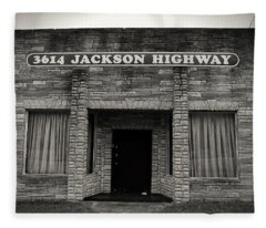 Muscle Shoals Sound Studio Fleece Blanket