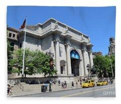 Museum Of Natural History Fleece Blanket