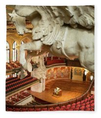 Palau De La Musica Catalana, Barcelona Fleece Blanket