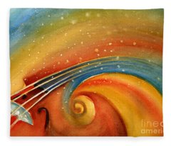 Music In The Spirit Fleece Blanket