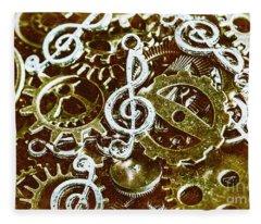 Music Production Fleece Blanket