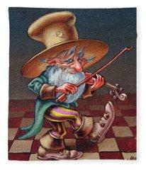 Musical Troll Fleece Blanket