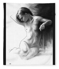 Musing And Contemplations Fleece Blanket