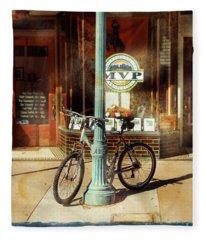 Mvp Laramie Bicycle Fleece Blanket