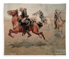 My Bunkie, 1899  Fleece Blanket