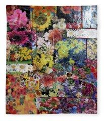 My Garden Fleece Blanket