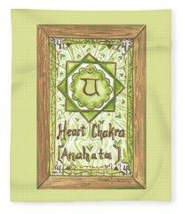 My Heart Chakra Fleece Blanket
