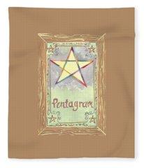 My Pentagram Fleece Blanket