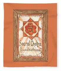 My Sacral Chakra Fleece Blanket