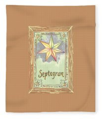 My Septagram Fleece Blanket