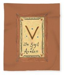 My Sigil Of Avalon Fleece Blanket