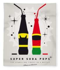My Super Soda Pops No-01 Fleece Blanket
