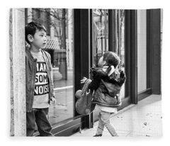 My Urban Portrait Fleece Blanket