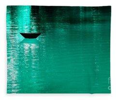 Mystery Boat Fleece Blanket